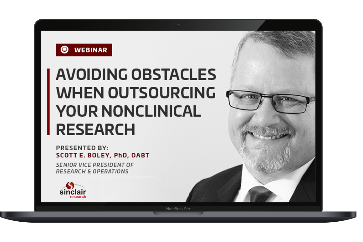Avoiding Obstacles When Outsourcing Your Nonclinical Research