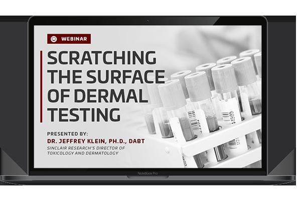 Scratching The Surface Of Dermal Testing Webinar Laptop