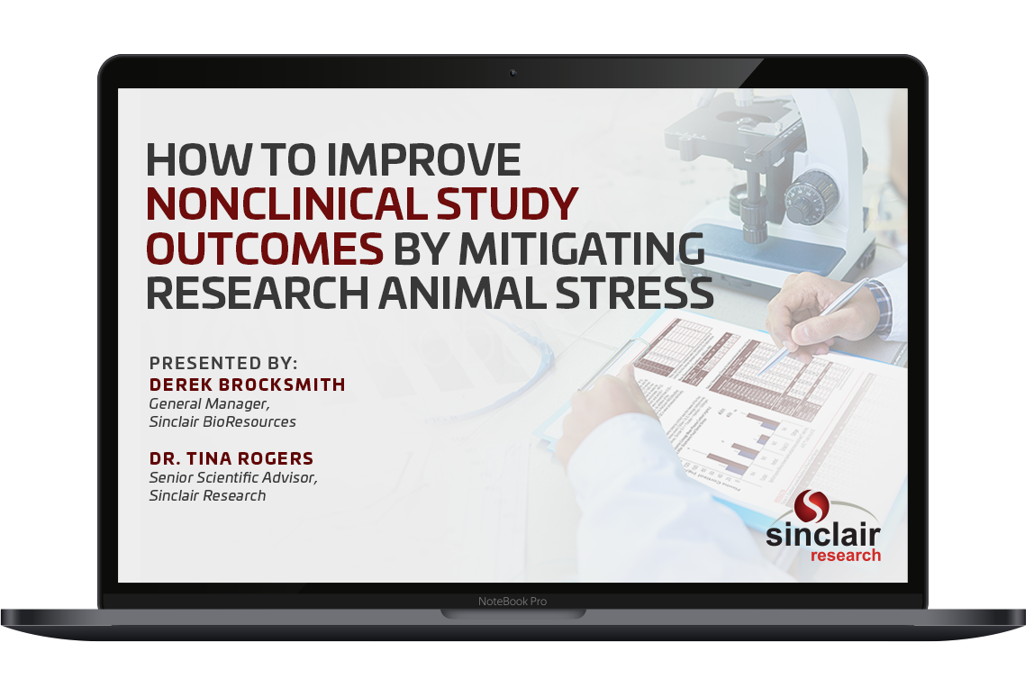 How to improve nonclinical study outcomes by mitigating research animal stress